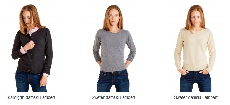 Swetry damskie od Wólczanki.